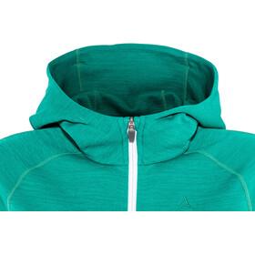 Schöffel Trentino Sweat à capuche en polaire Femme, spectra green